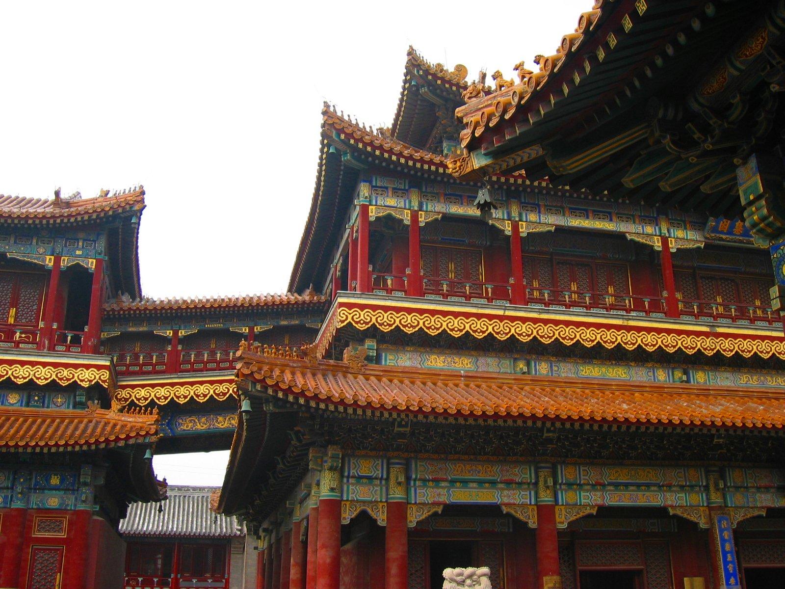 Le temple des Lamas